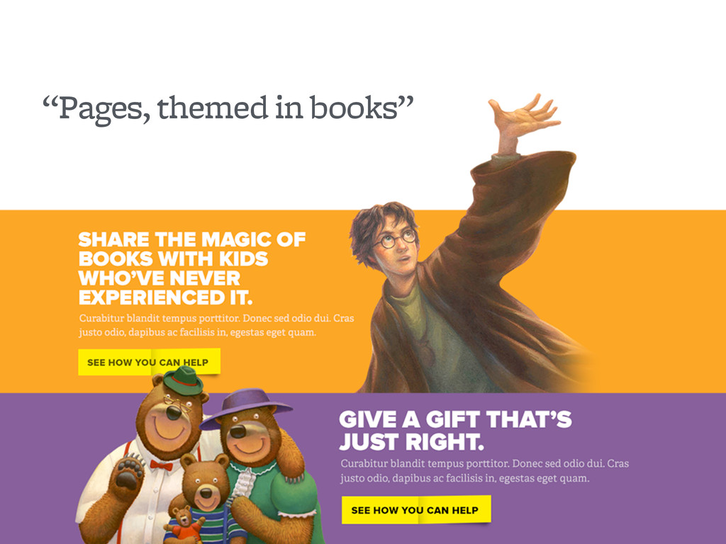 """""""Pages, themed in books"""""""