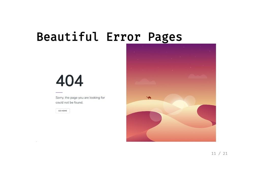 Beautiful Error Pages Beautiful Error Pages 11 ...