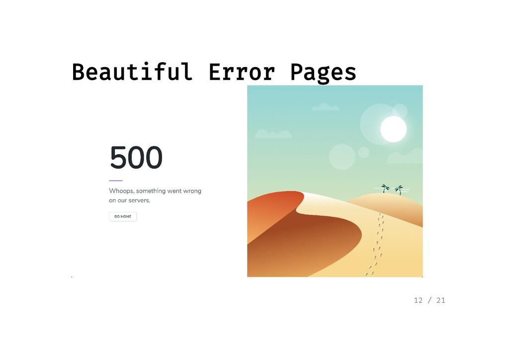 Beautiful Error Pages Beautiful Error Pages 12 ...
