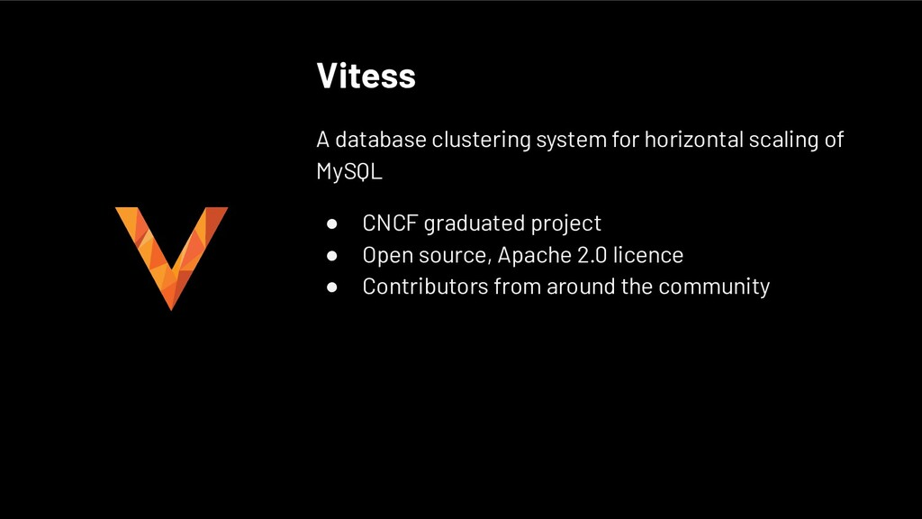 Vitess A database clustering system for horizon...