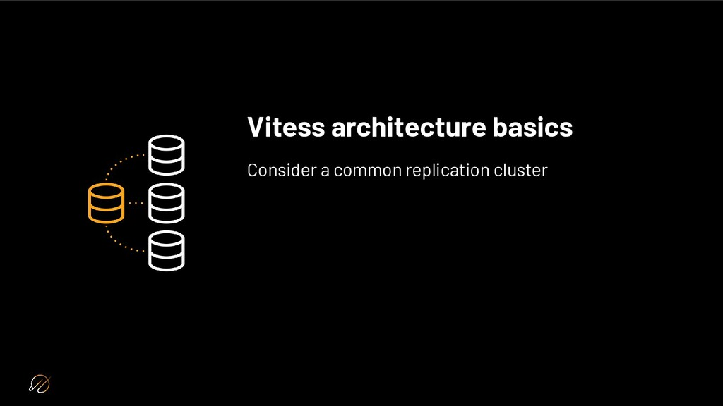 Vitess architecture basics Consider a common re...
