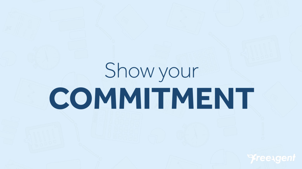 Show your COMMITMENT