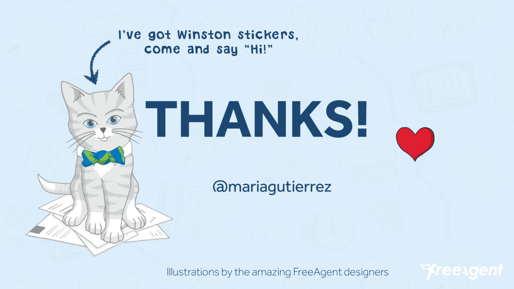 THANKS! @mariagutierrez I've got Winston sticke...