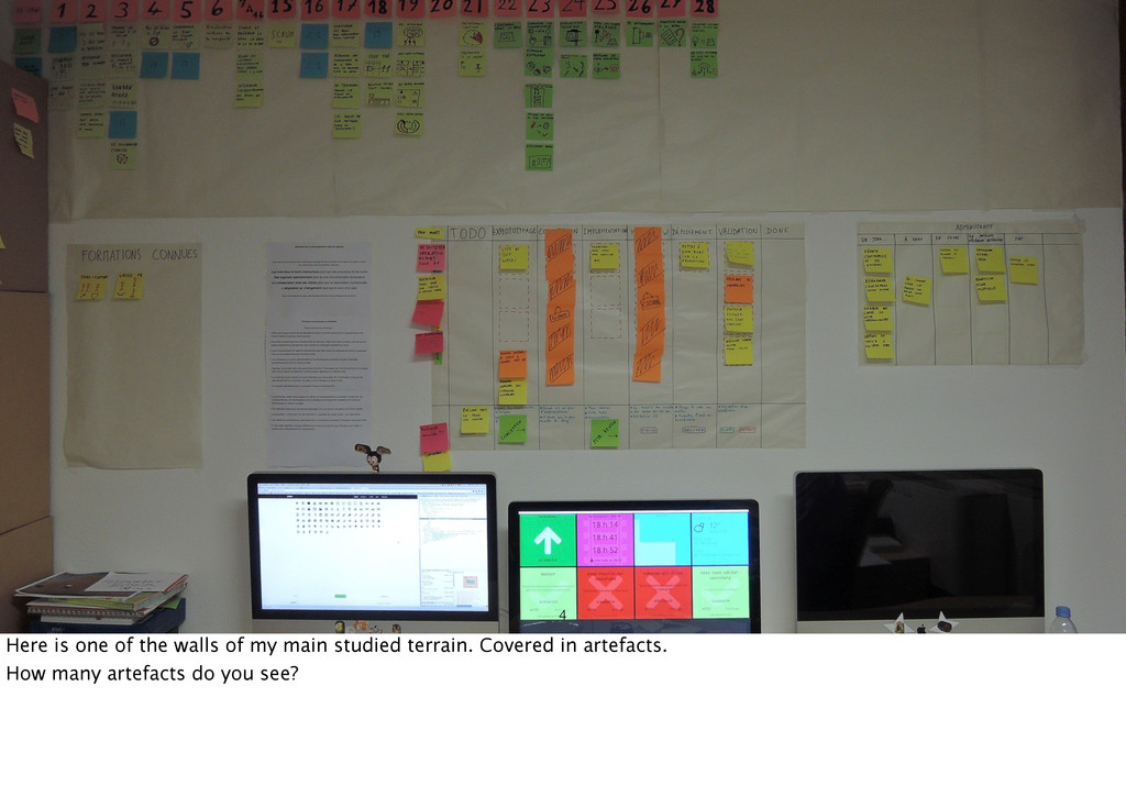 4 Here is one of the walls of my main studied t...