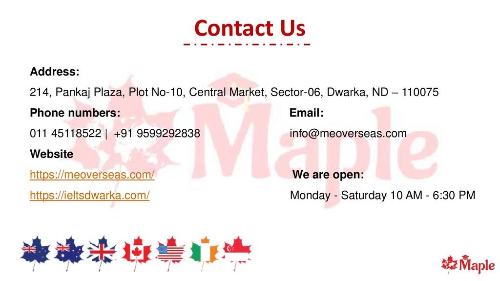 Contact Us Address: 214, Pankaj Plaza, Plot No-...