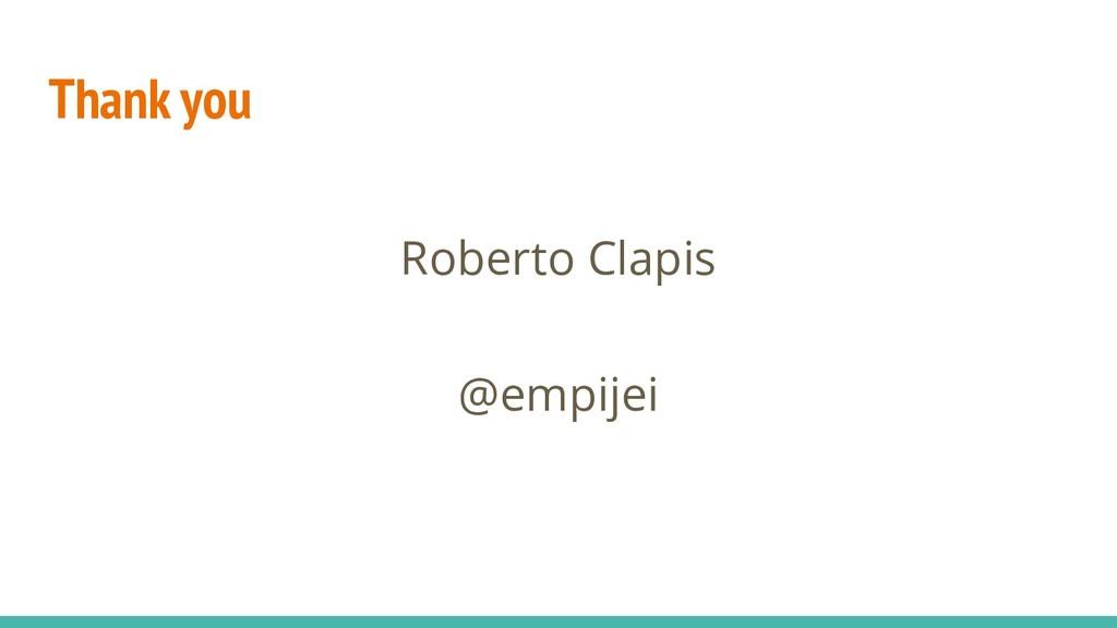 Thank you Roberto Clapis @empijei