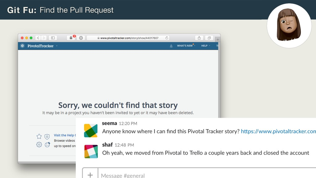 Git Fu: Find the Pull Request