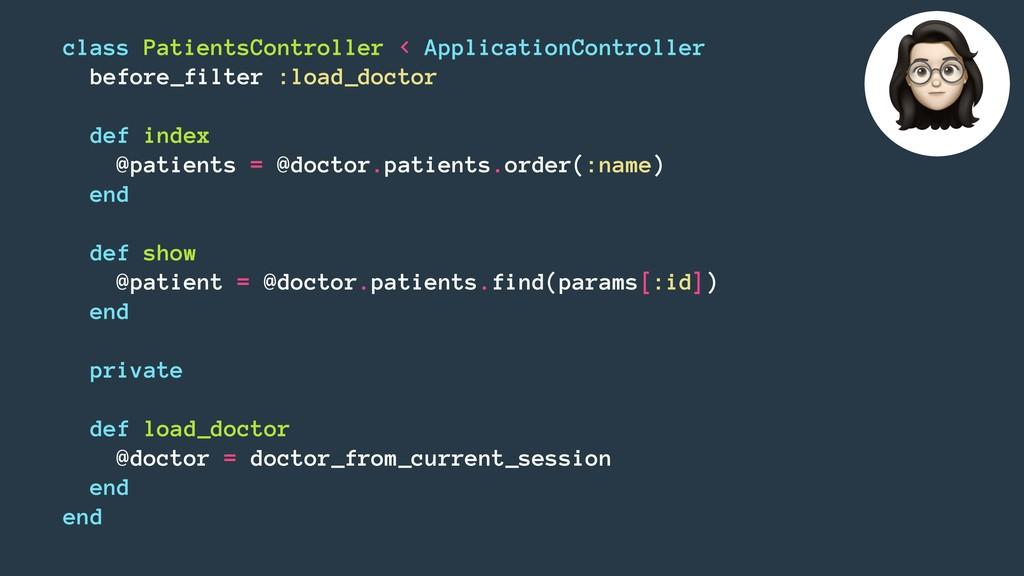 class PatientsController < ApplicationControlle...