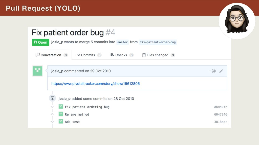 Pull Request (YOLO)