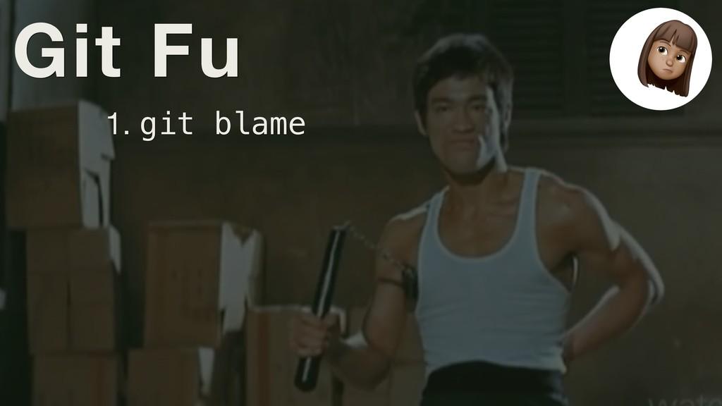 Git Fu 1. git blame