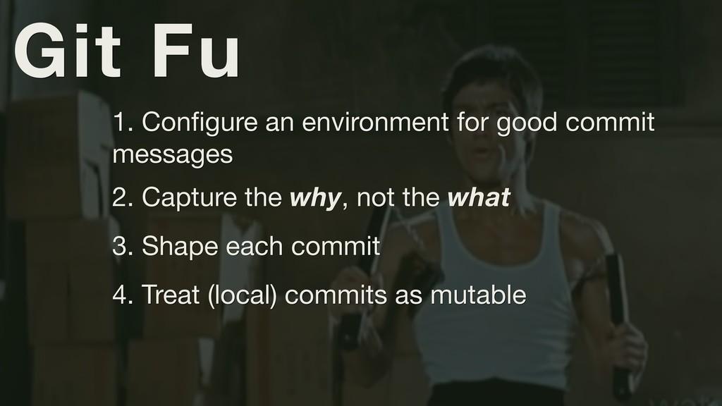 Git Fu 1. Configure an environment for good comm...