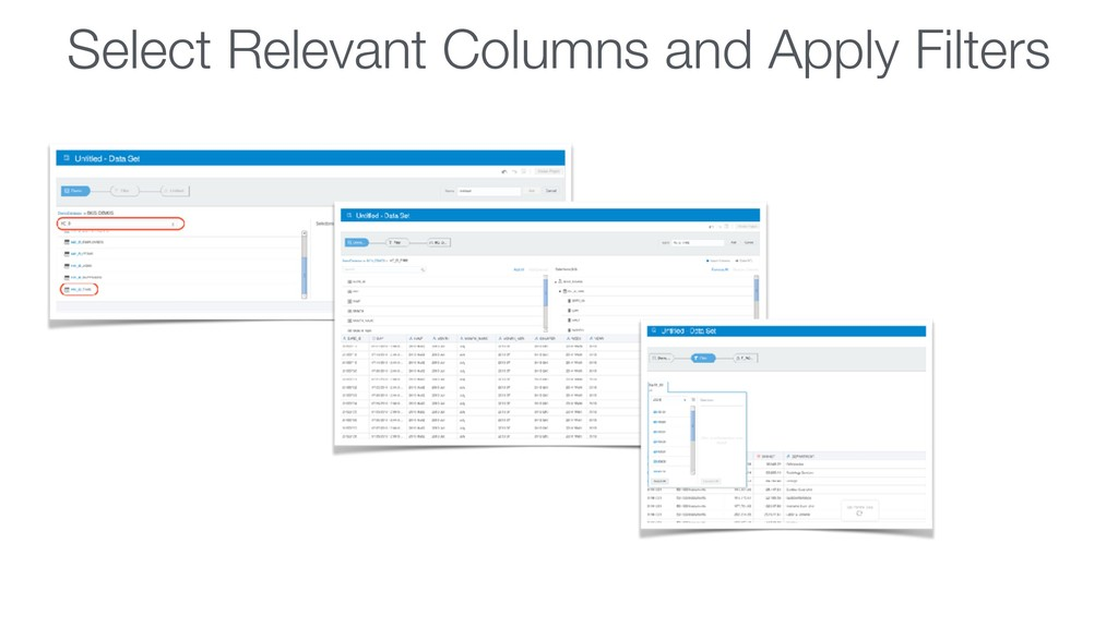 Select Relevant Columns and Apply Filters
