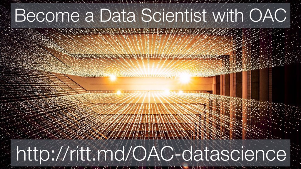 Become a Data Scientist with OAC http://ritt.md...