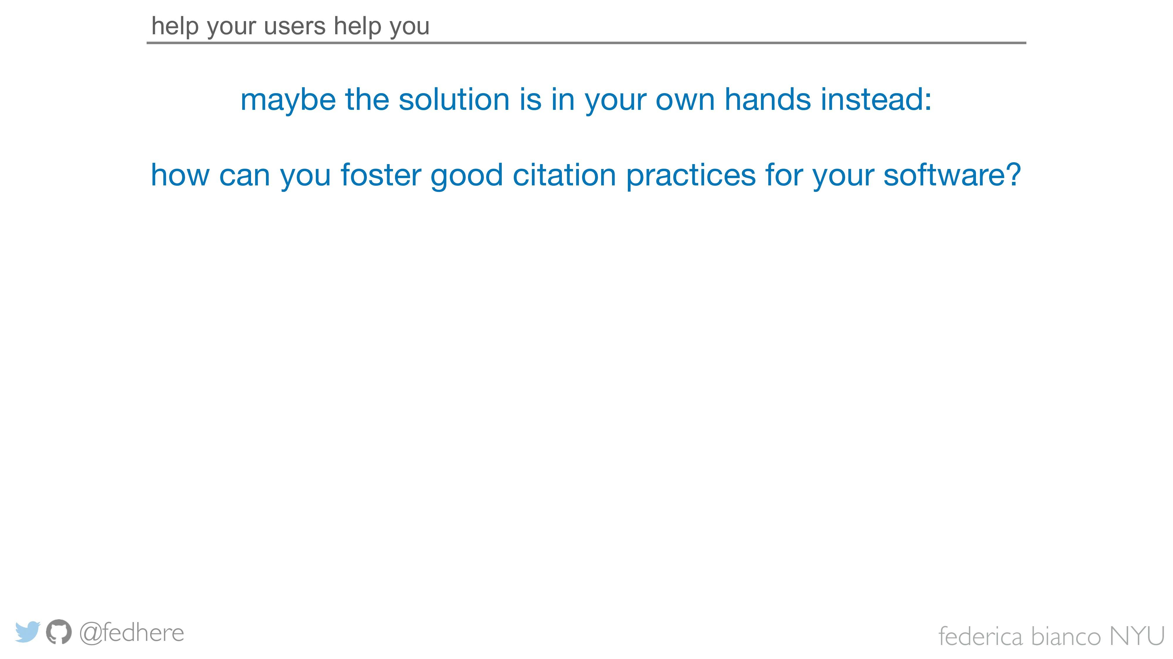 federica bianco NYU @fedhere help your users he...