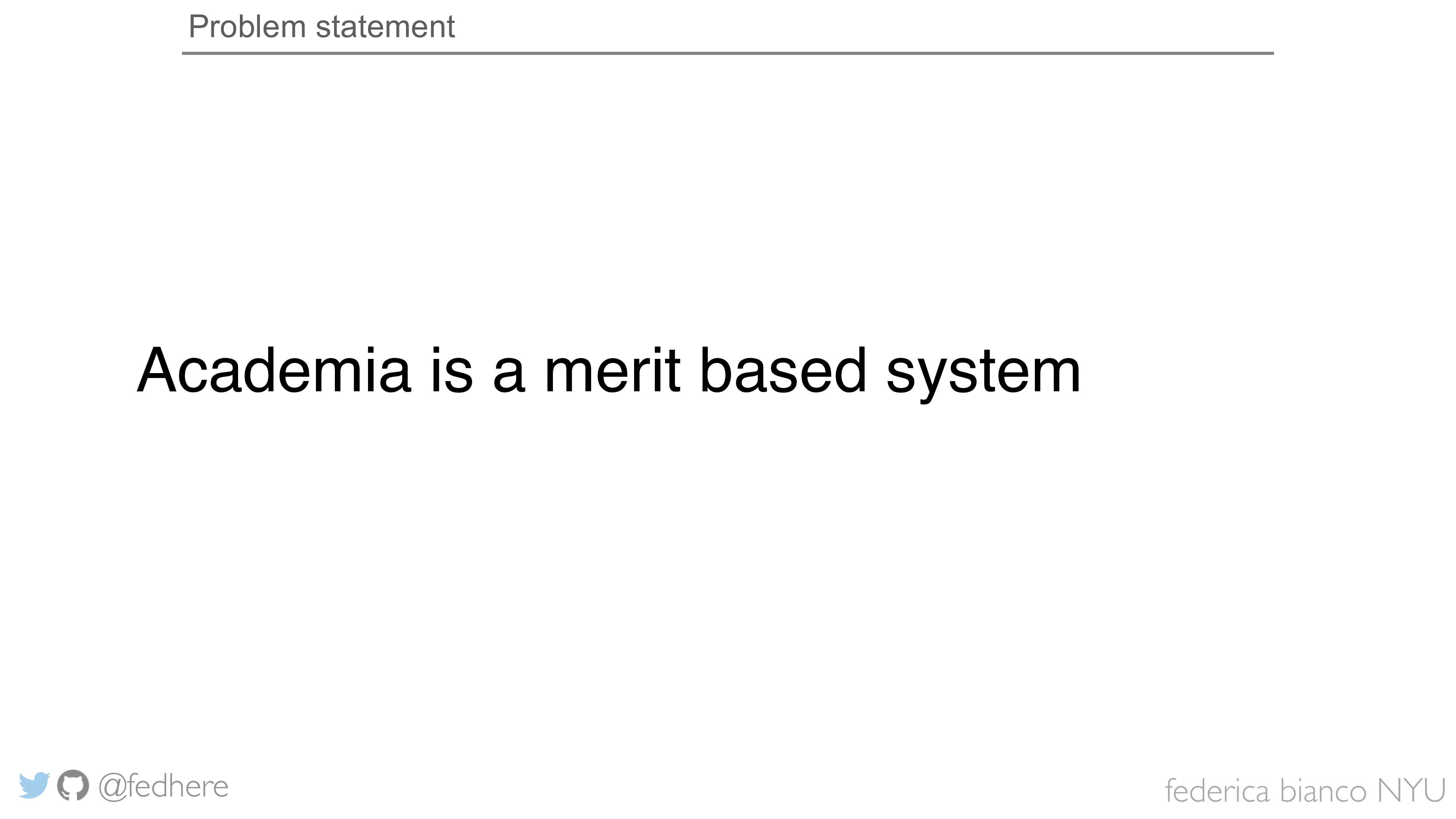 federica bianco NYU @fedhere Problem statement ...