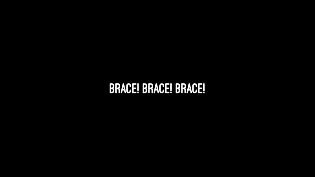 Brace! Brace! Brace!