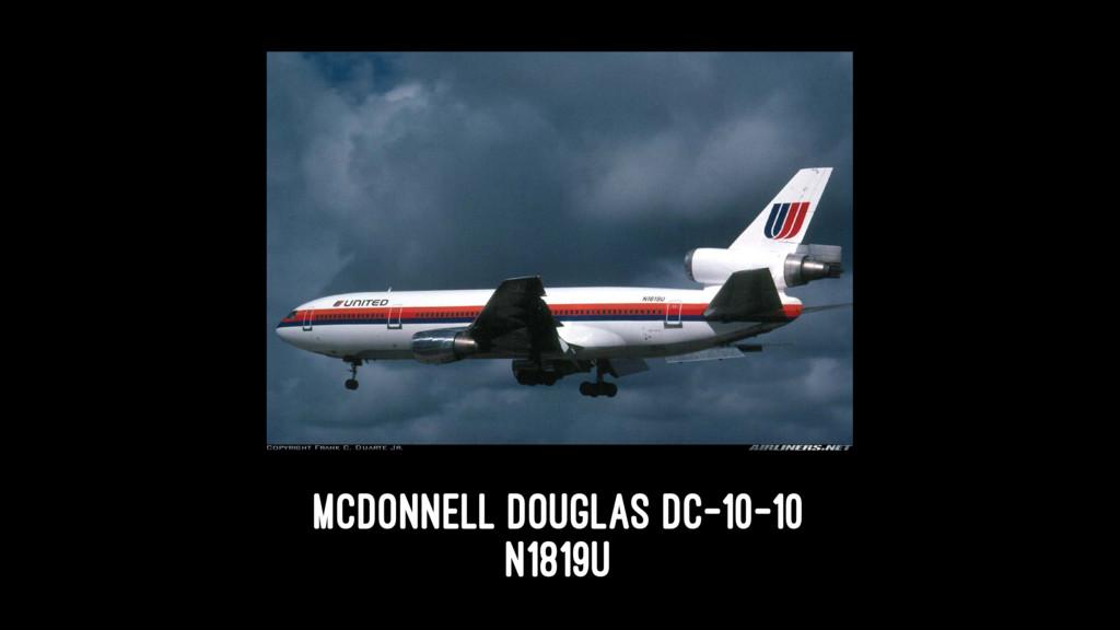 McDonnell Douglas DC-10-10 N1819U