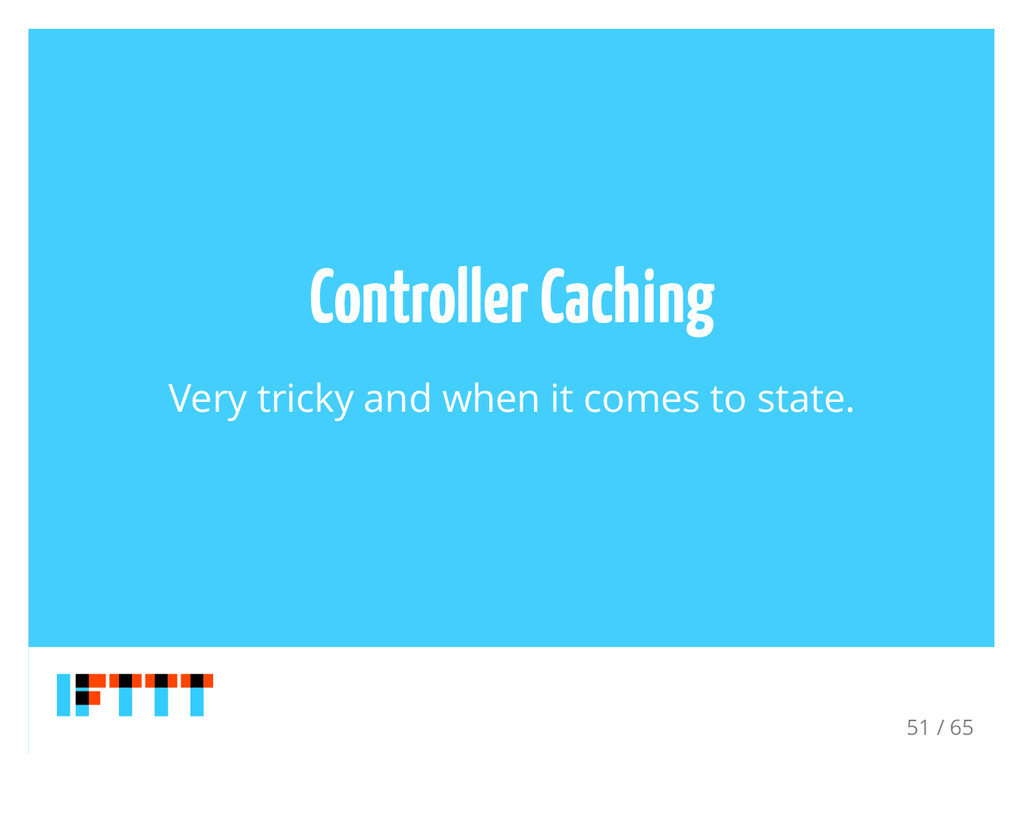Controller Caching Very tricky and when it come...