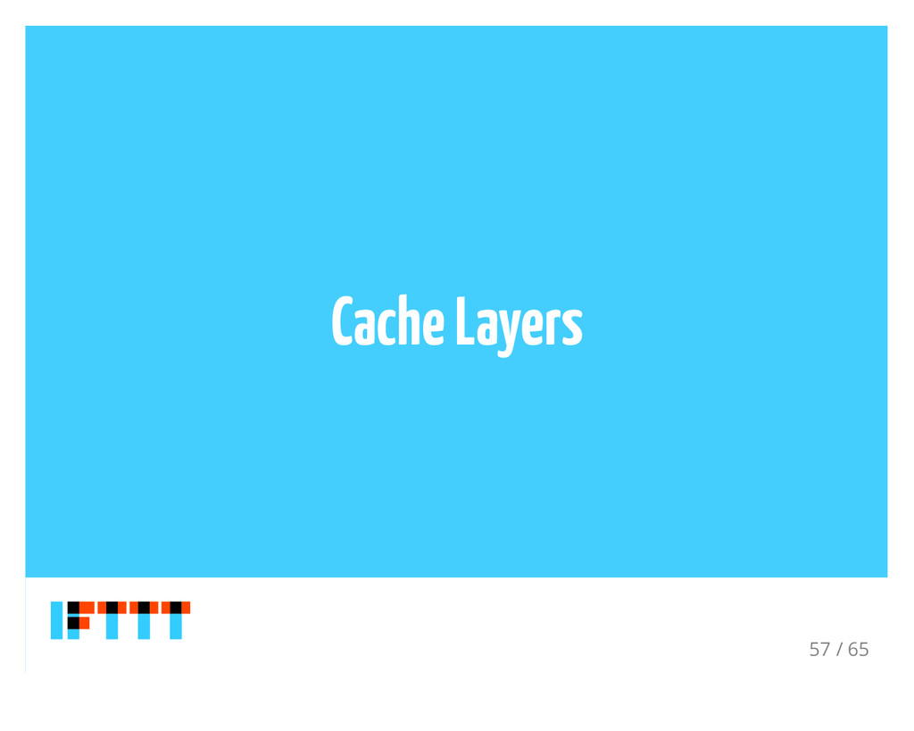 Cache Layers 57 / 65