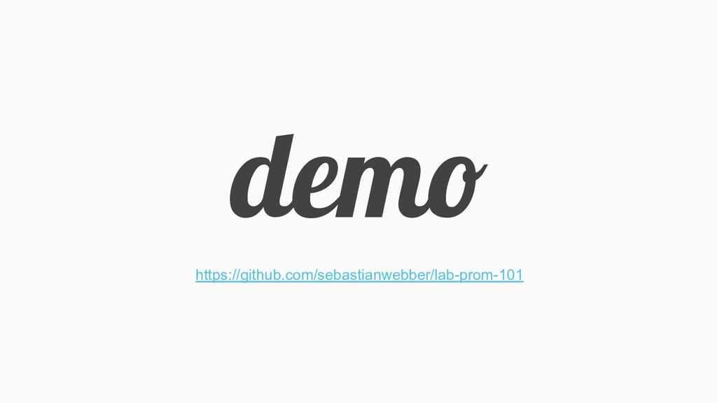 demo https://github.com/sebastianwebber/lab-pro...