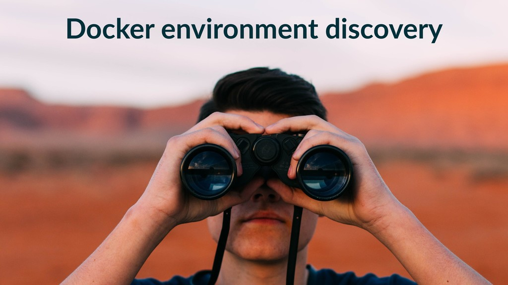 Docker environment discovery