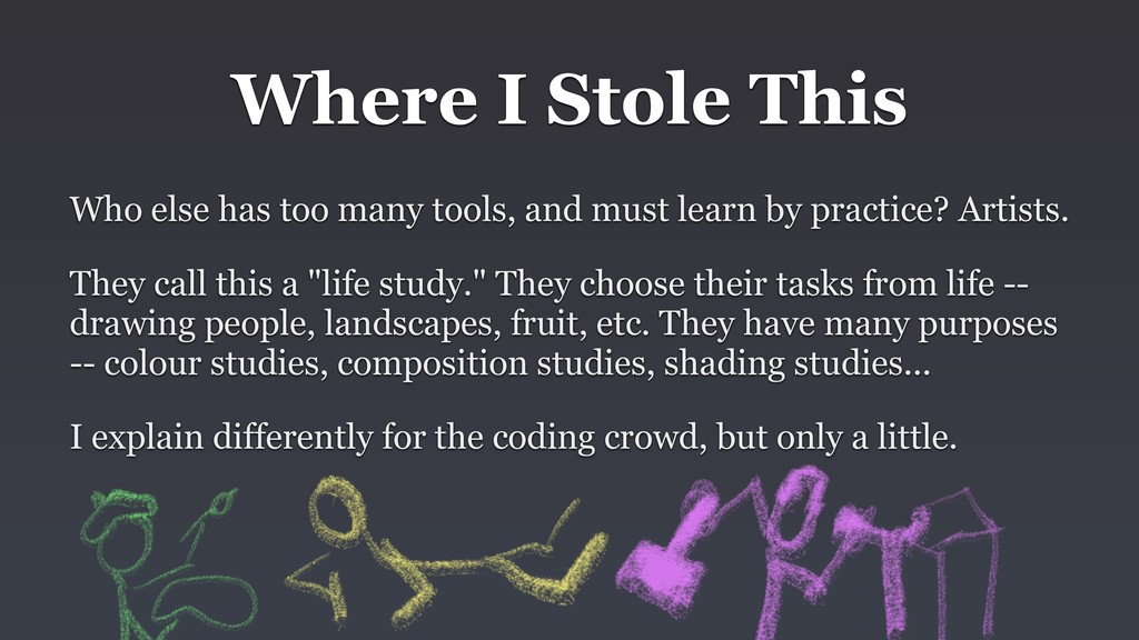 Where I Stole This Who else has too many tools,...