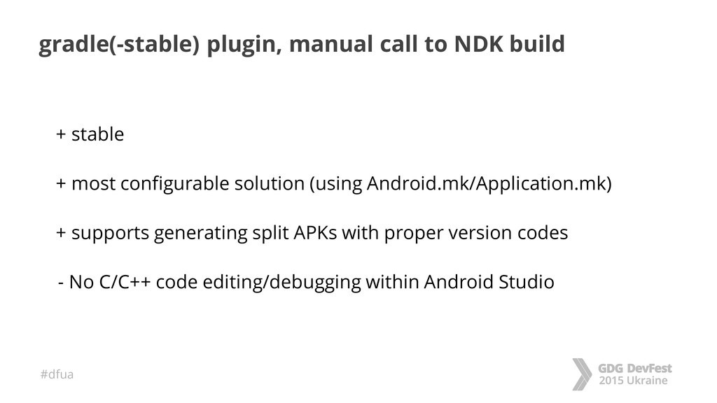 #dfua gradle(-stable) plugin, manual call to ND...