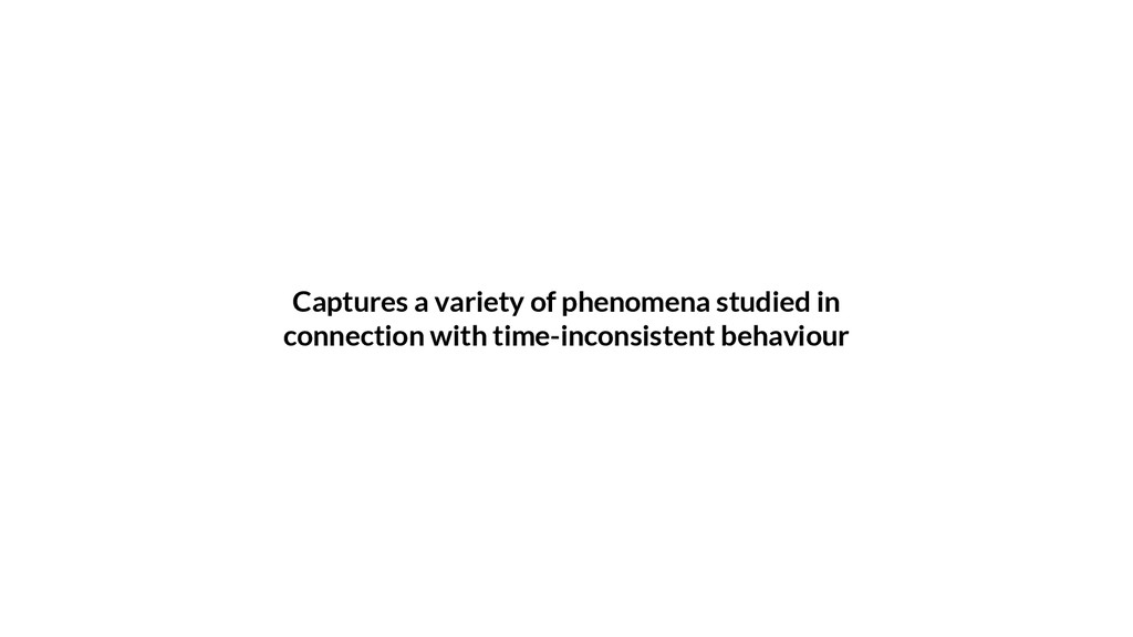 Captures a variety of phenomena studied in conn...