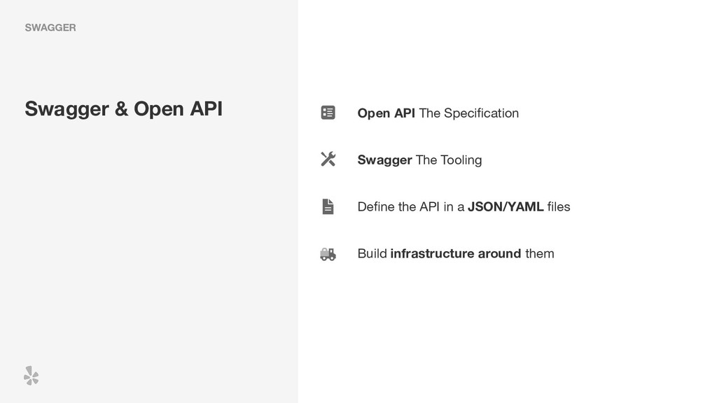Open API The Specification Swagger The Tooling ...