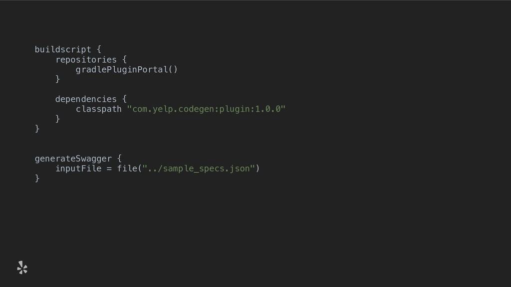 buildscript { repositories { gradlePluginPortal...