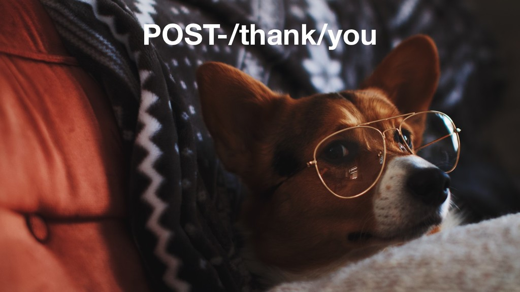 POST-/thank/you
