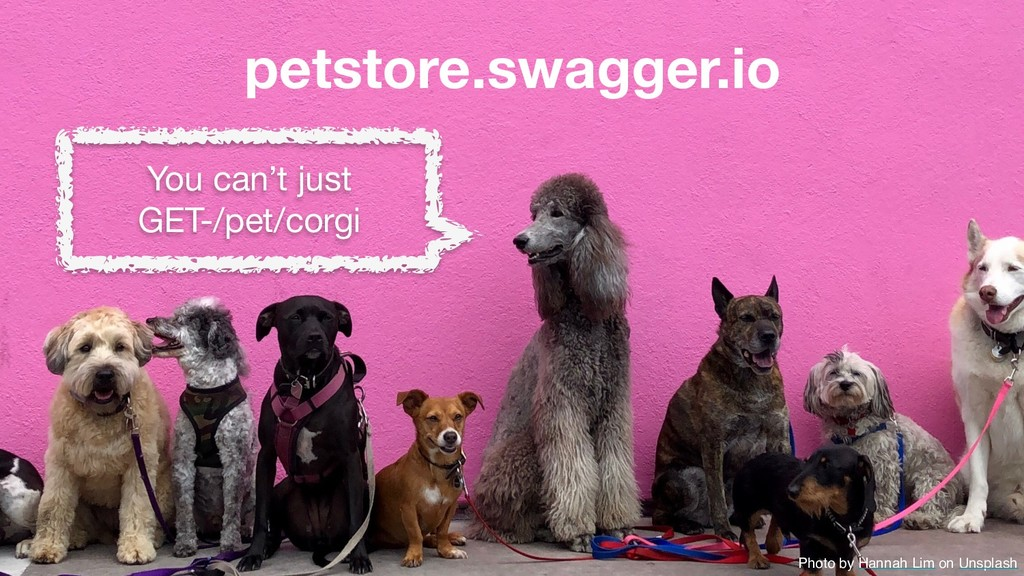 petstore.swagger.io You can't just  GET-/pet/co...