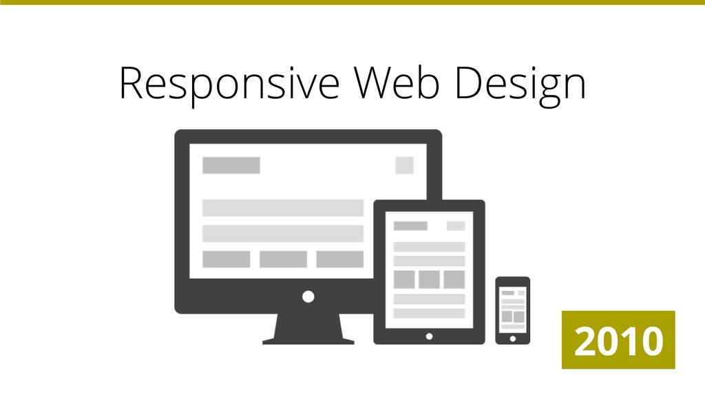 Responsive Web Design 2010