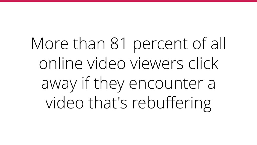 More than 81 percent of all online video viewer...