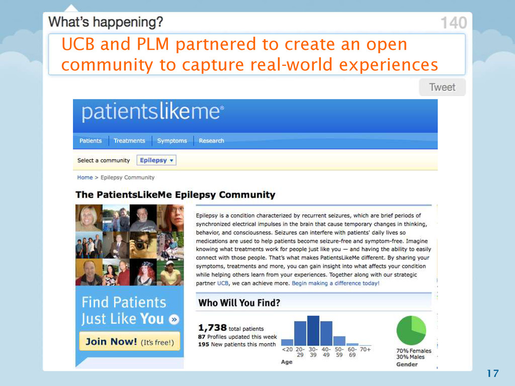 17 UCB and PLM partnered to create an open comm...