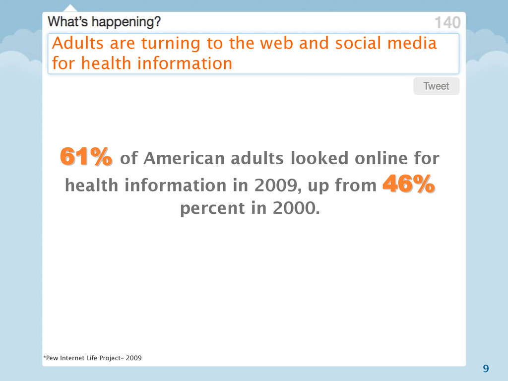 9 Adults are turning to the web and social medi...