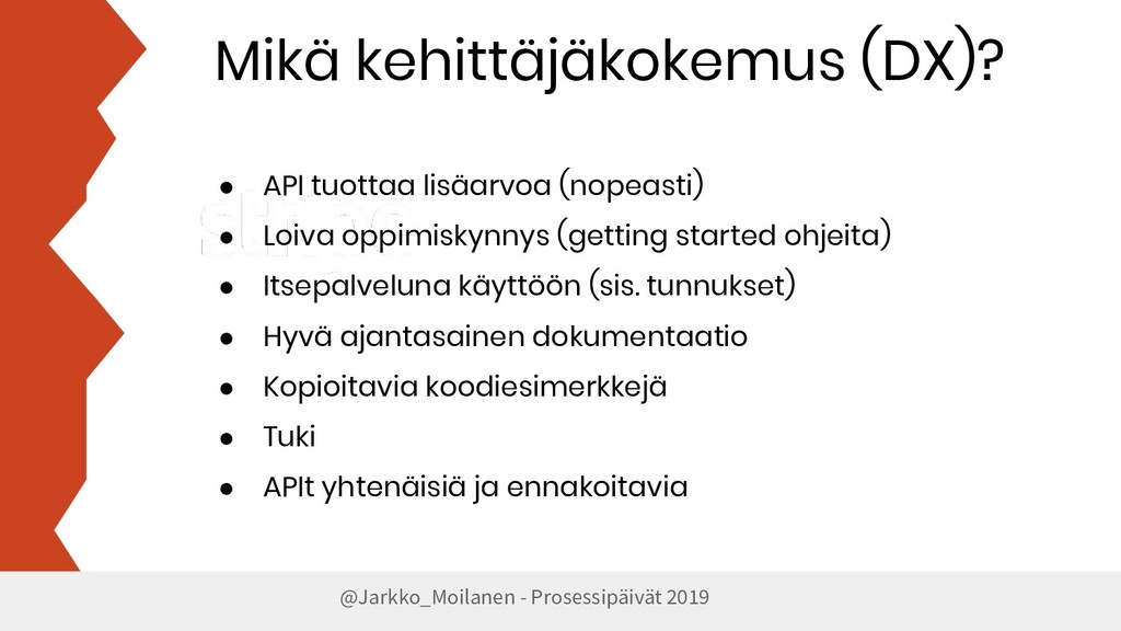 Mikä kehittäjäkokemus (DX)? @Jarkko_Moilanen - ...
