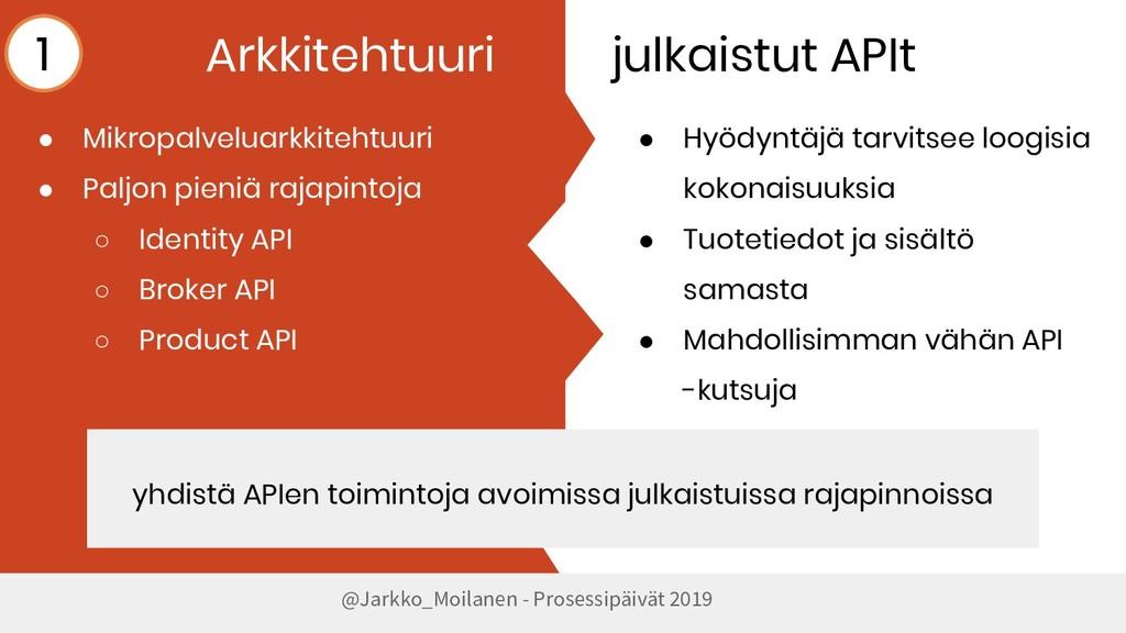 @Jarkko_Moilanen - Prosessipäivät 2019 Arkkiteh...