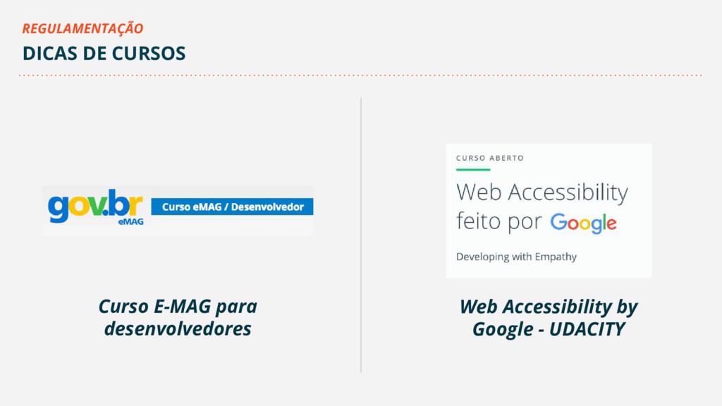 Curso E-MAG para desenvolvedores Web Accessibil...