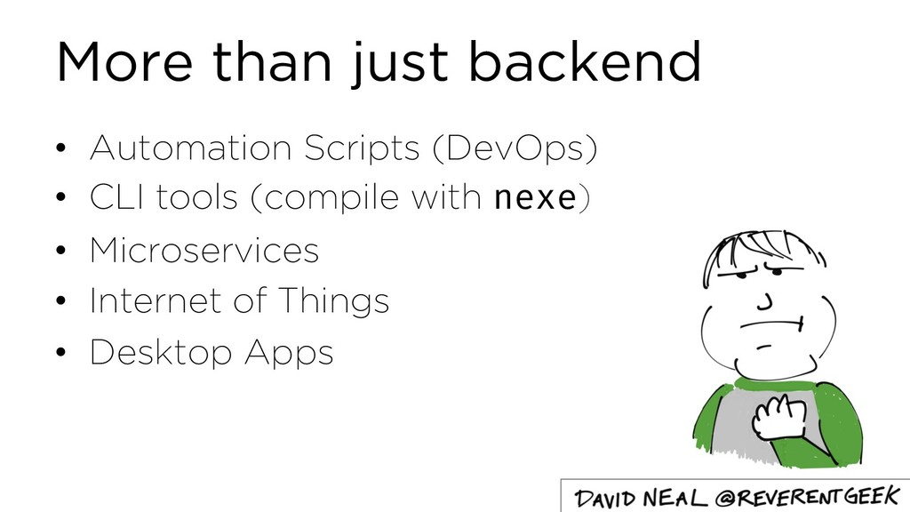 More than just backend • Automation Scripts (De...