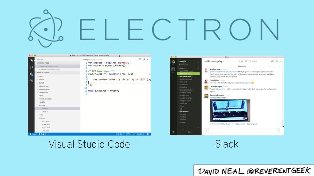 Slack Visual Studio Code