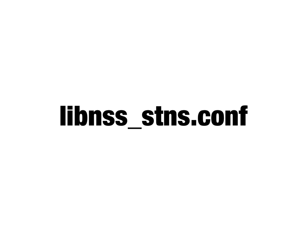 libnss_stns.conf