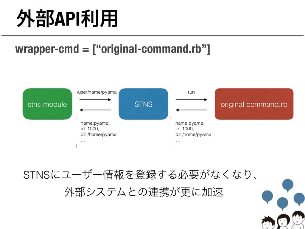 "֎෦APIར༻ wrapper-cmd = [""original-command.rb""] S..."