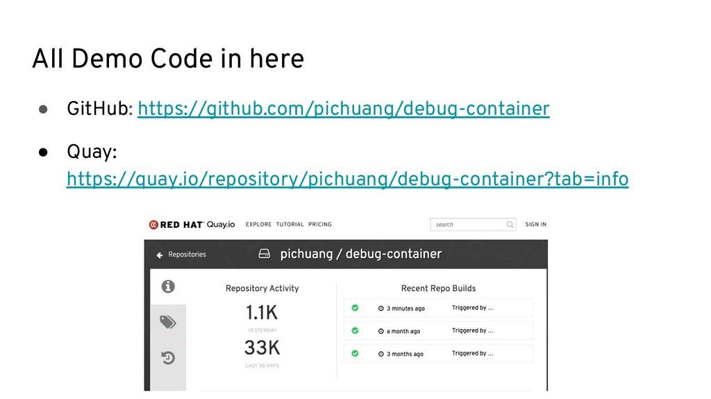 All Demo Code in here ● GitHub: https://github....