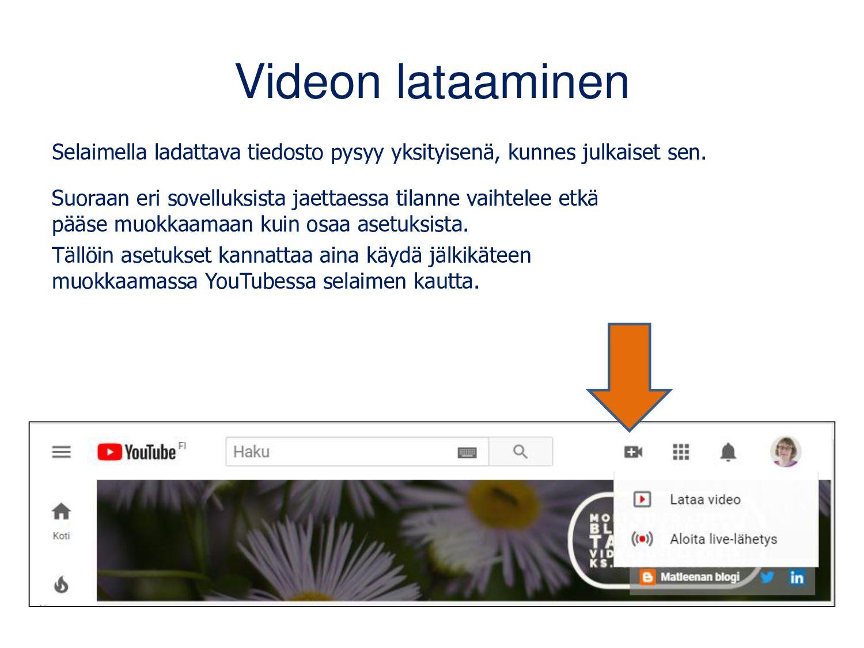 YouTube-videon kappaleet eli aikaleimat Voit li...