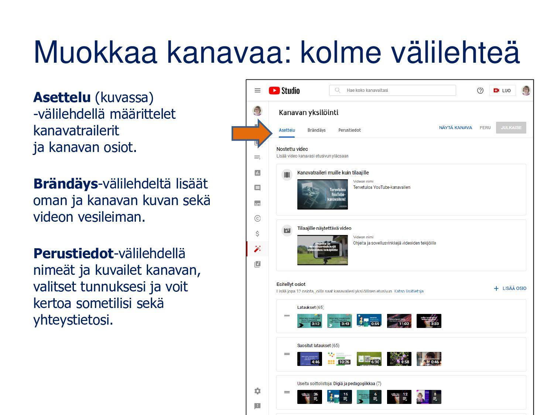 www.youtube.com/c/matleenalaakso Osio Osio Soit...