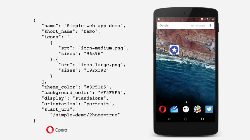 """{ """"name"""": """"Simple web app demo"""", """"short_name"""": ..."""