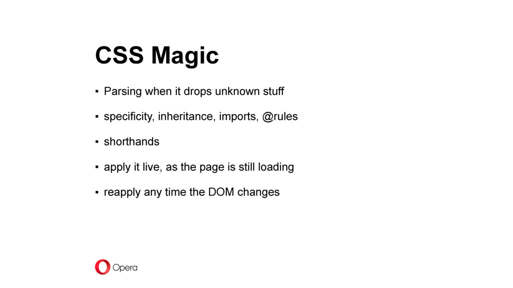 CSS Magic ▪ Parsing when it drops unknown stuff...