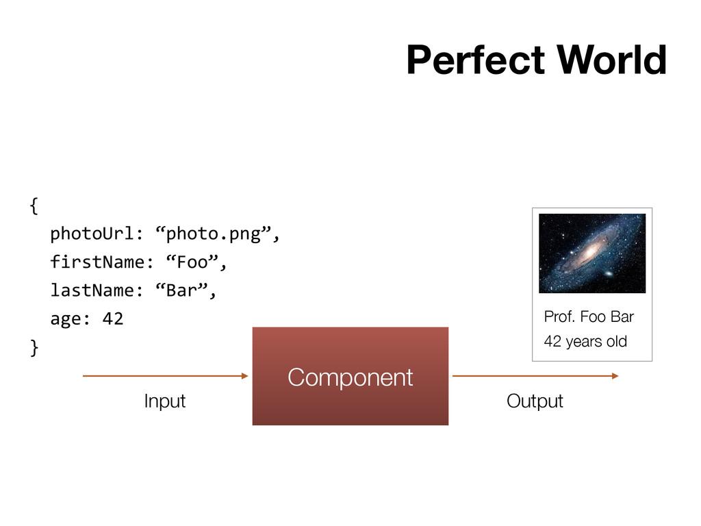 Component Input Output {    photoUrl:...