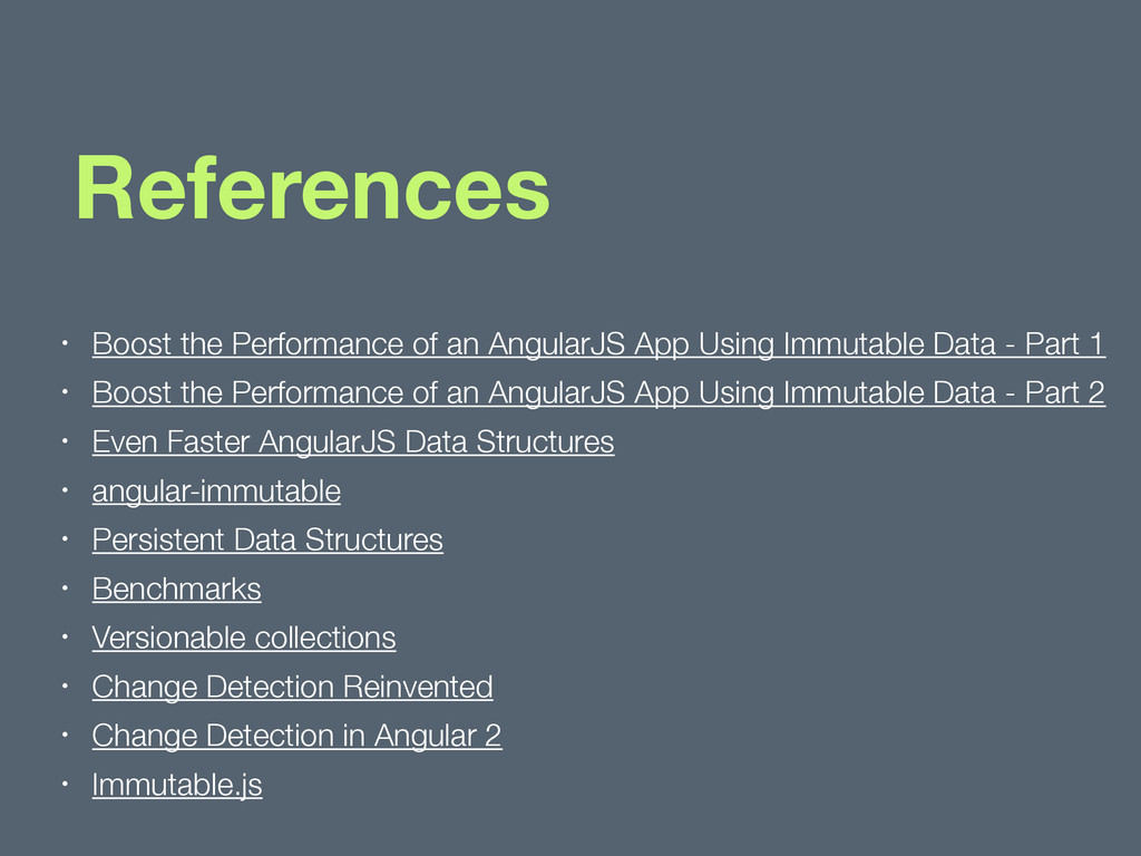References • Boost the Performance of an Angula...